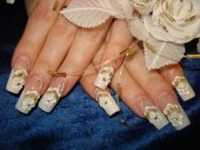 Свадебный нейл-арт 2011