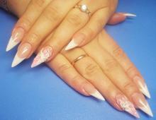 Свадебный дизайн (маникюр) ногтей в 2013 году