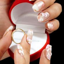 Свадебный дизайн ногтей - френч 2013